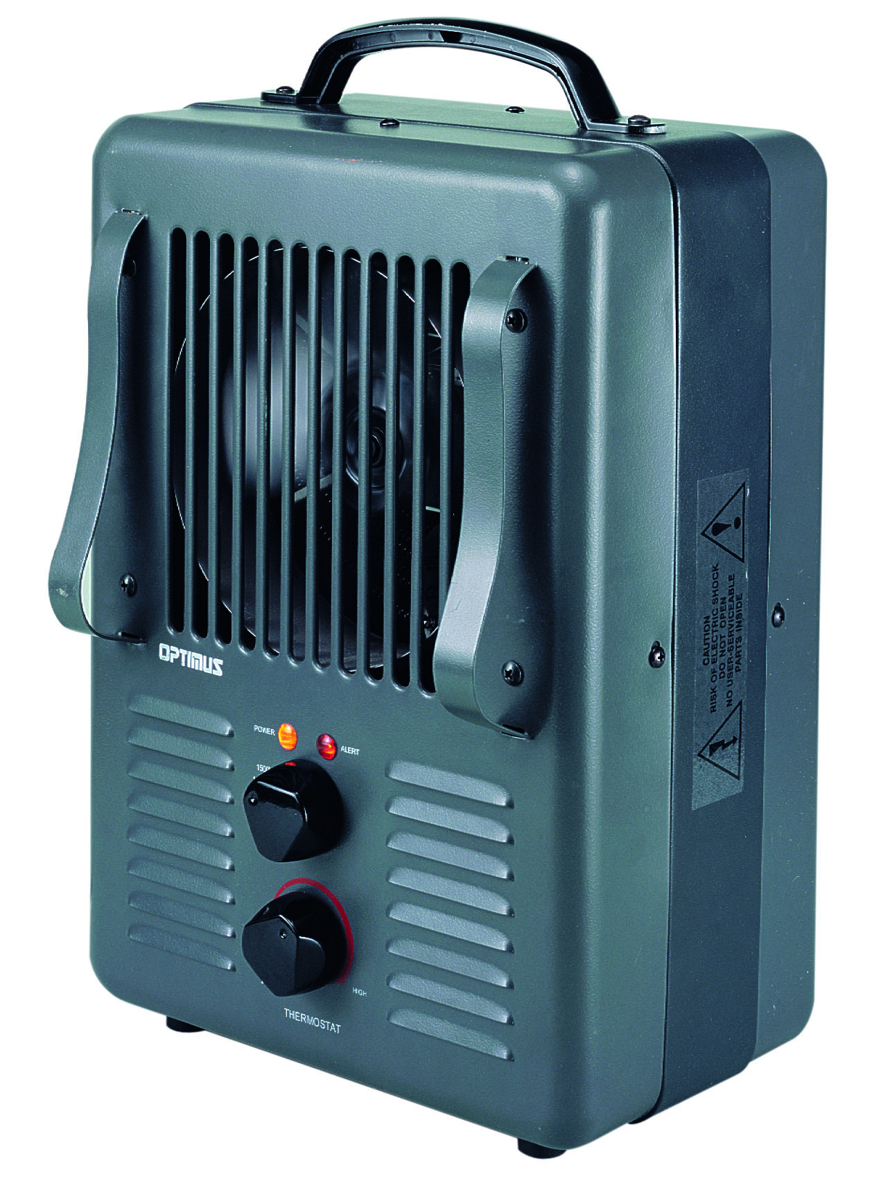 Optimus lvh3010s portable utility heater with thermostat