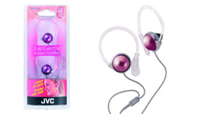 Jvc hae23p pink headphone clip