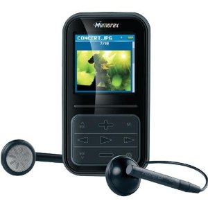 Memorex MMP8590-BLK - Digital player / radio - flash 2 GB - WMA, MP3, protected WMA (DRM 10) - display: 1.5