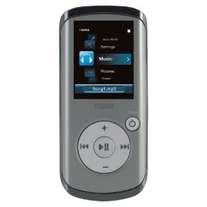 RCA Opal 2 GB Video MP3 player with 1.8-inch Display, FM Radio, and Voice Recording (Gray)
