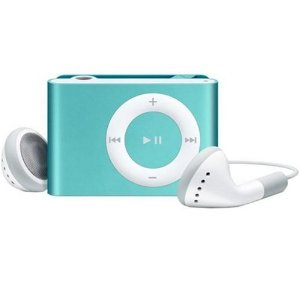 Apple iPod shuffle 2 GB Blue (2nd Generation) OLD MODEL