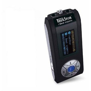 TrekStor i.Beat Organix FM 512 MB MP3 Player with FM Tuner (Black)