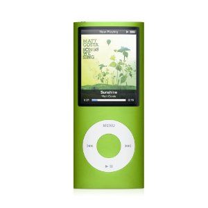 Apple iPod nano 16 GB Green (4th Generation) [Previous Model]