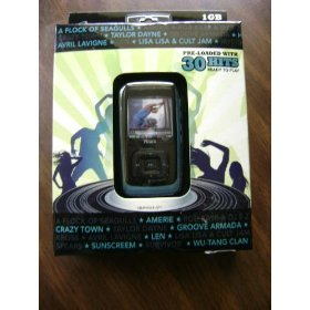 Memorex Blue 1G MP3 Player-8568-SPT