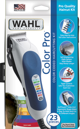 Wahl 79300 400 clipper hard case 20color pcs
