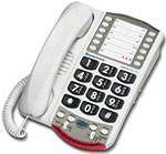 @conair rb pr5007bkcs phone big button slim corded