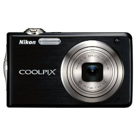 Nikon Coolpix S630 12MP Digital Camera with 7x Optical Vibration Reduction (VR) Zoom and 2.7 inch LCD (Jet Black)