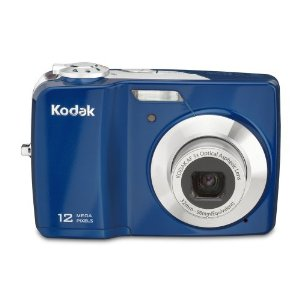 Kodak Easyshare C182 12MP Digital Camera with 3x Optical Zoom and 3-inch LCD (Blue)