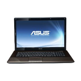 ASUS K72JR-A1 17.3-Inch Versatile Entertainment Laptop (Dark Brown)