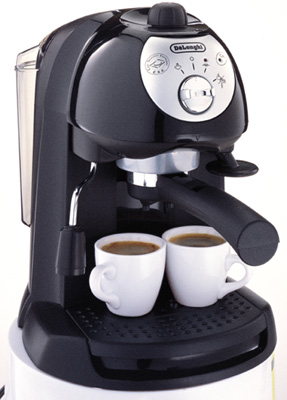 Delonghi bar32 steel espresso capuccino maker 1100w