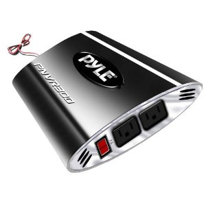 Pyle PNVR300 Plug In Car 300 Watts 12v DC to 115V AC Power Inverter with Modified Sine Wave
