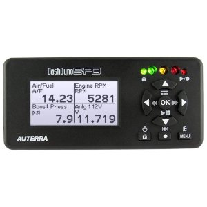 Auterra A-500 DashDyno SPD In-Vehicle Automotive Computer - Scan Tool, Performance Meter, and Data Logger