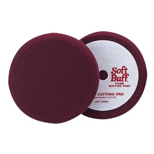Meguiar's W7000 8-Inch Soft Buff Foam Cutting Pad
