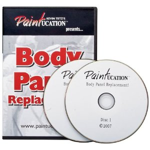 Paintucation Body Replacement Panel DVD by Kevin Tetz