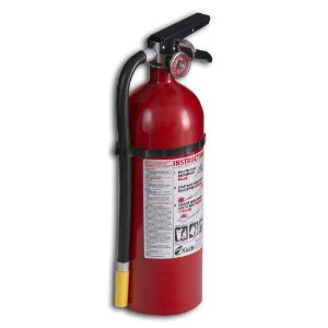 Kidde 21005782 Pro 340 Fire Extinguisher, ABC, Rechargeable