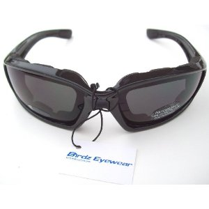 Motorcycle Smoke Riding Glasses Sunglasses with Foam ATV Off Road Eyewear