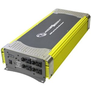 Power Bright XTW3000-12 Pure Sine Power Inverter 3000 Watt 12 Volt DC To 110 Volt AC