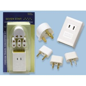 Sevenstar International Voltage Converter Adapter Kit SS204K