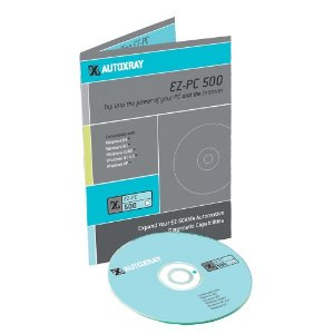 AutoXray EZ-PC 500 Software