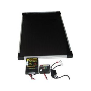VDC Electronics BatteryMINDer 12 Volt Solar Charging System with 5 Watt Panel and Desulfator, Model# SCC005