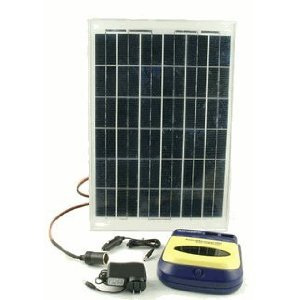 20 Watt Solar Battery Charger Kit with AccuManager 20 Battery Charger