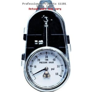 Professional Products 11101 Street Tire Pressure Gauge