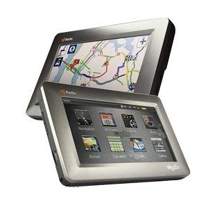 Cydle T43H Portable GPS Navigator with Free HD Radio