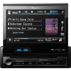 Pioneer AVH-P5200DVD In-Dash DVD Multimedia AV Receiver