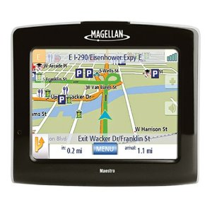 Magellan Maestro 3220 3.5-Inch Portable GPS Navigator with Text-to-Speech