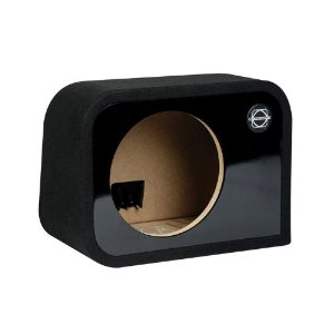 Bassworx HSR10G Single 10-InchSealed Enclosure (Black)