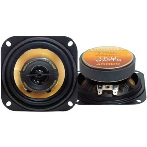 Pyramid 438GS 4-Inch 160-Watts 2-Way Speakers (Pair)