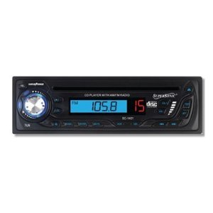 SuperSonic SC-1401 Car Audio Indash Radio CD Player AM FM Receiver