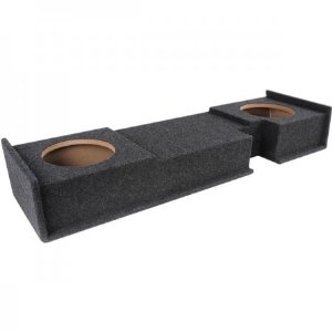 Atrend A302-10Cp B Box Series 10-Inch Dual Down-Fire Subwoofer Boxes