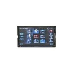 Kenwood Excelon DNX8120 - Navigation system with DVD player, LCD monitor, digital player and radio