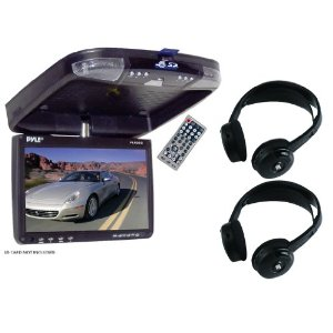 Pyle Great DVD/Headphone Package for Car/Truck/SUV -- PLRD92 9