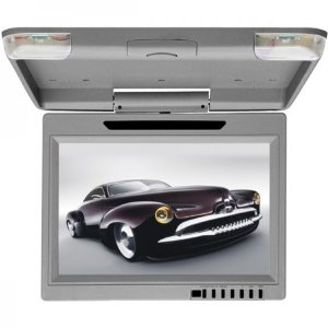 Roadview R12.1G 12.1-Inch TFT LCD Drop-Down Video Monitor (Gray)