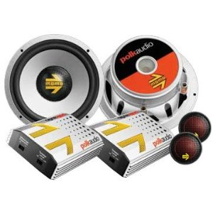 Polk 6.5 in. Component Car Speaker (MM6)