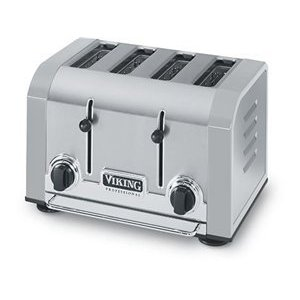 Viking VT401SG Professional Stainless Gray Toaster 4-slice