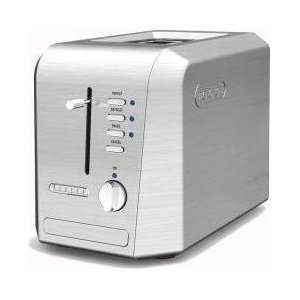 Delonghi 2-Slice Toaster - Stainless Steel
