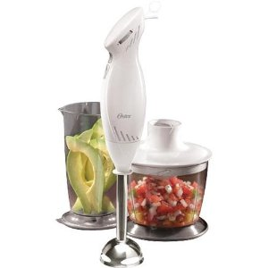 Oster Hand Blender with Chopper - White (2605)