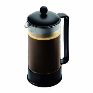 Bodum Brazil Shatterproof SAN 8 Cup Coffee Press, 34-Ounce