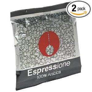 Espressione E.S.E. 100% Arabica Coffee, 18-Count Pods (Pack of 2)