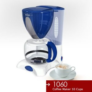 Miallegro 1060 10-cup Drip Coffee Maker