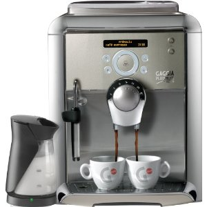 Gaggia 90901 Platinum Swing Up Automatic Espresso Machine with Milk Island, Platinum