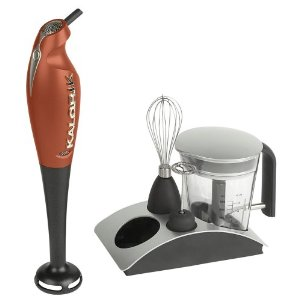 Kalorik CMM-24294 200-Watt 4-in-1 Combination Stick Mixer, Aztec Copper