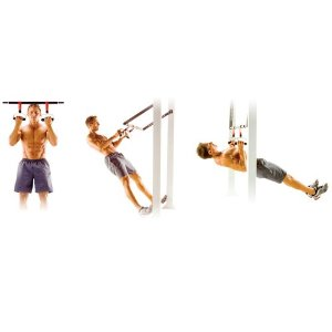 Bodyrev Perfect Pullup with Ab Straps - Black