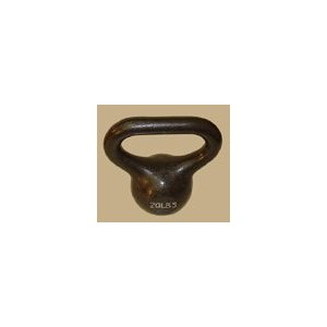 20 lb. Wide Handle Kettlebell
