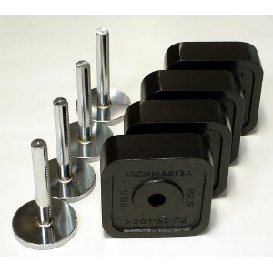 Ironmaster Quick Lock Dumbell 120 lb Add on Kit