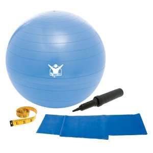 The Biggest Loser 65cm Core Advantage Stability Ball (Royal Blue)