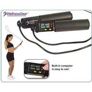 WellnessGear Digital Jump Rope